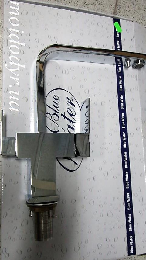 Смеситель кухонный Blue Water  Taupo (хром) с подключением к водному фильтру