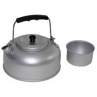 Чайник 0,95л алюминиевый с чайным ситечком Fox Outdoor 33303