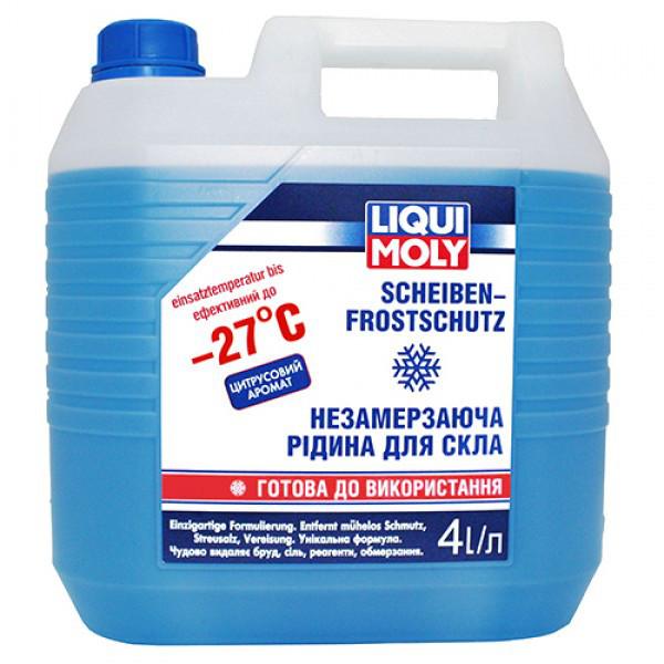 Омыватель стекла Liqui Moly Scheiben Frostschutz -27°C 4 л. 8806