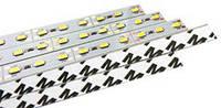 Светодиодная линейка smd 5630 100см 72 светодиода на клейкой основе (скотч) теплый белый