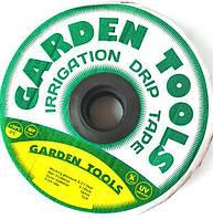 "Капельная лента(щелевая лента) ""Garden Tools"" 7mil, расстояние капельниц 20 см,500м"