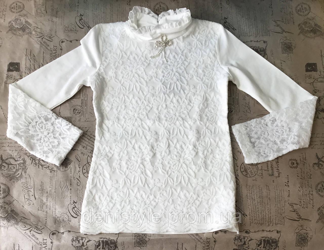 05e7bfe4d11 Школьная блузка для девочек Matilda р-р 128-164 см  продажа