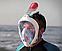 Подводная маска EasyBreath, закрывающая все лицо (2 размера), фото 5