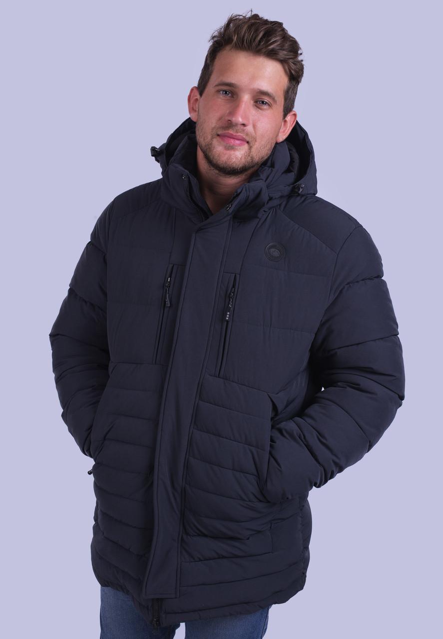 Куртка мужская зимняя серая Avecs AV-70179 Размеры 50