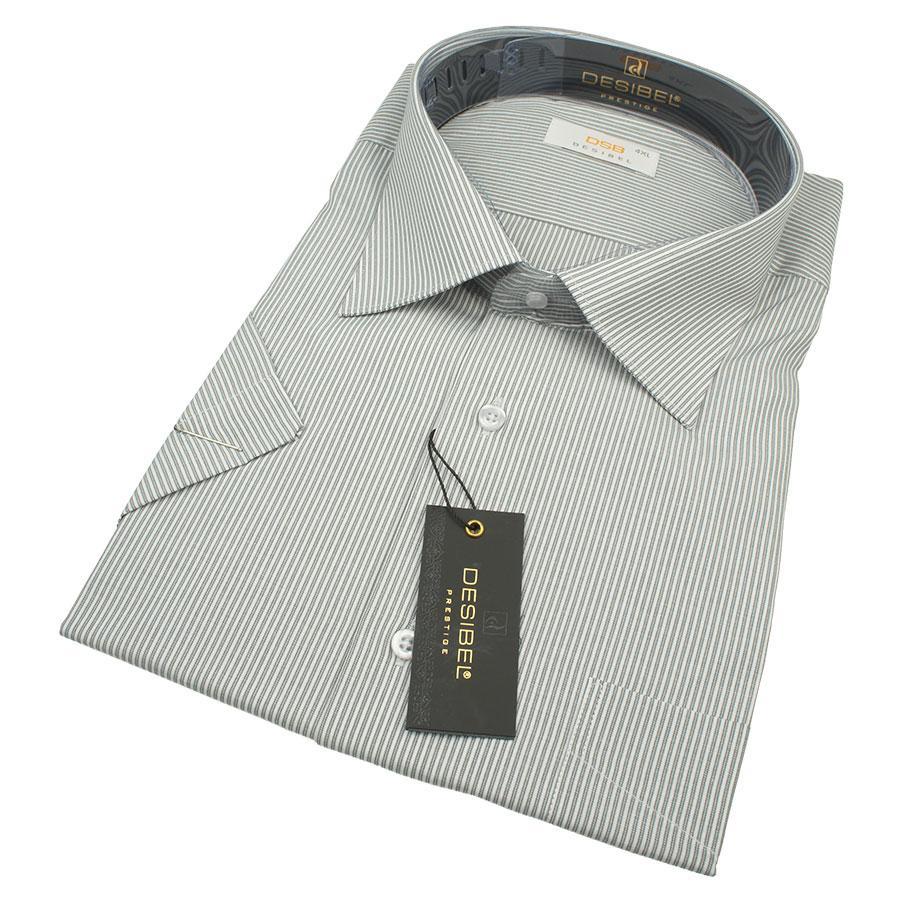 Чоловіча літня сорочка DSB 0330 В Classic С розмір 4XL великого розміру