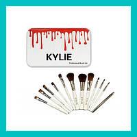 Набор кистей для макияжа Kylie Brash Set 12 шт