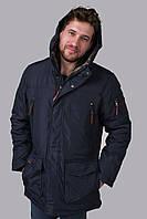 Куртка чоловіча зимова синя Avecs AV-981C Розміри 48/M 54/2XL