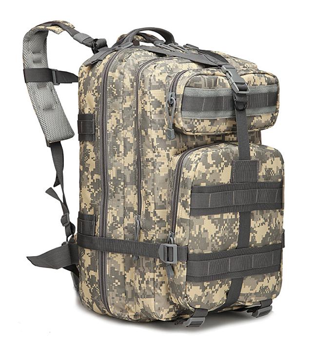 Військовий Тактичний штурмової багатофункціональний рюкзак на 45литров