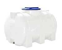 Ємність пластикова горизонтальна 350L (0,35 m³) / Емкость пластиковая горизонтальная 350 л.