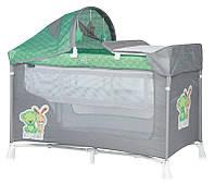 Манеж - кровать Bertoni San Remo 2L plus пеленатор и навес с игрушками