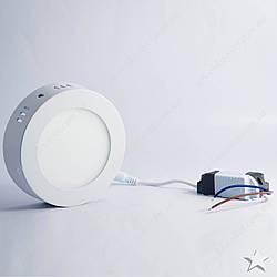 Накладной светодиодный светильник круг 6w Feron AL504 480Lm 5000K