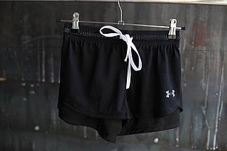 Женские шорты UnaderArmour.Ластик\Сетка.2 расцветки, фото 3