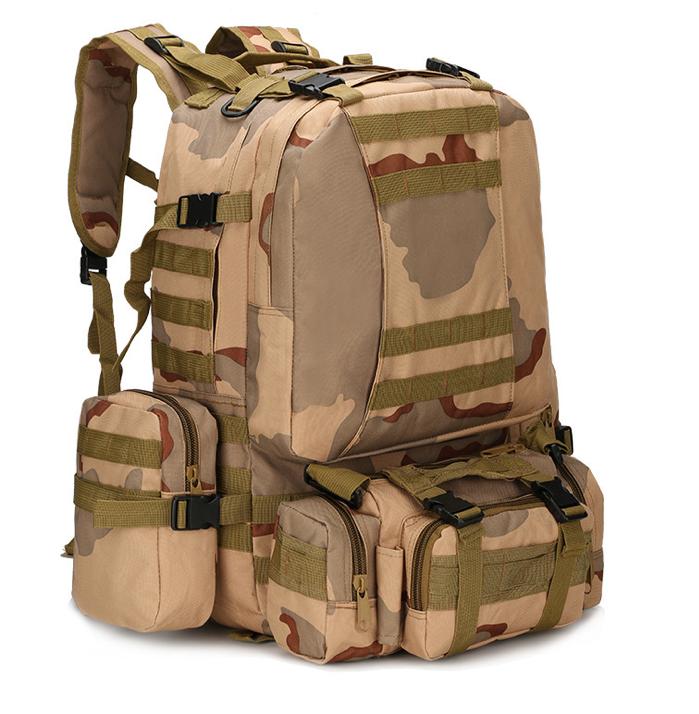 Тактичний Штурмової Військовий Рюкзак з підсумкими на 50-60литров