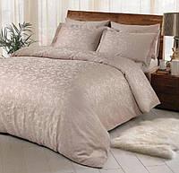 Двуспальное евро постельное белье TAC Brinley Vizon Жаккард