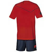 Комплект игровой формы детский (шорты, футболка) Lotto KIT SIGMA JR 170 FLAME/NAVY Q8554