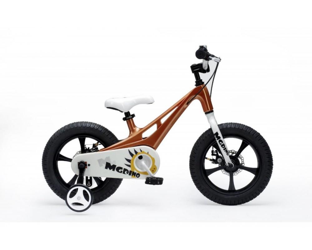 Детский велосипед ROYALBABY14 MG DINO BMX коричневый