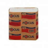 Диспенсерные салфетки, L - сложения, однослойные 250 шт., Focus, пр-во Турция