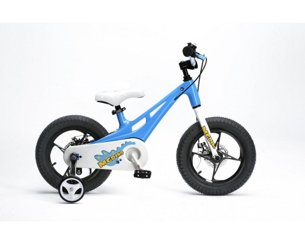 Детский велосипед ROYALBABY14 MG DINO BMX голубой