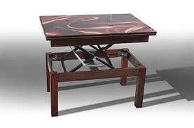 Варианты рисунков (принтов) для столов трансформеров Флай (Баттерфляй) со стеклом