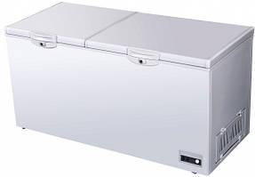Морозильний лар EWT INOX CF418L