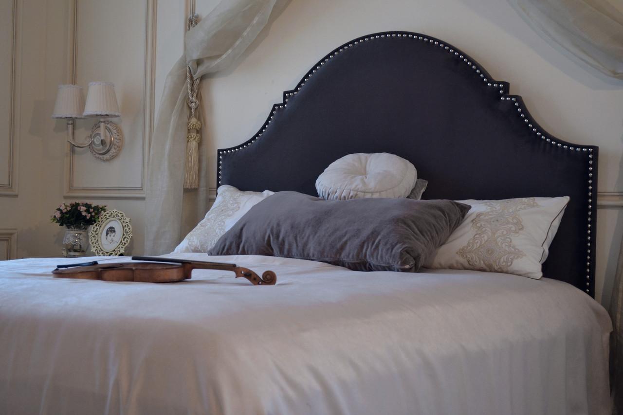 Кровать Индиго с декоративными гвоздиками 160х200см