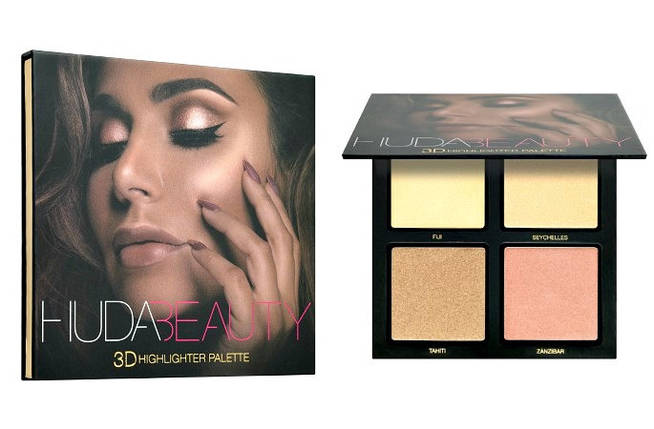 HUDA BEAUTY 3D Highlighter Palette - Golden Sands, фото 2