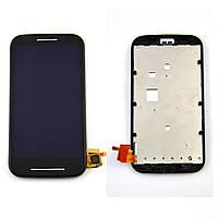 Дисплей Motorola XT1021 Moto E/XT1022/XT1023/XT1025  черный (дисплей, сенсор, экран)
