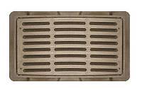 Решетка чугунная дождеприемника большого 850х440х40 мм (БТ)