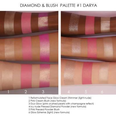 NATASHA DENONA Diamond & Blush Palette, фото 2