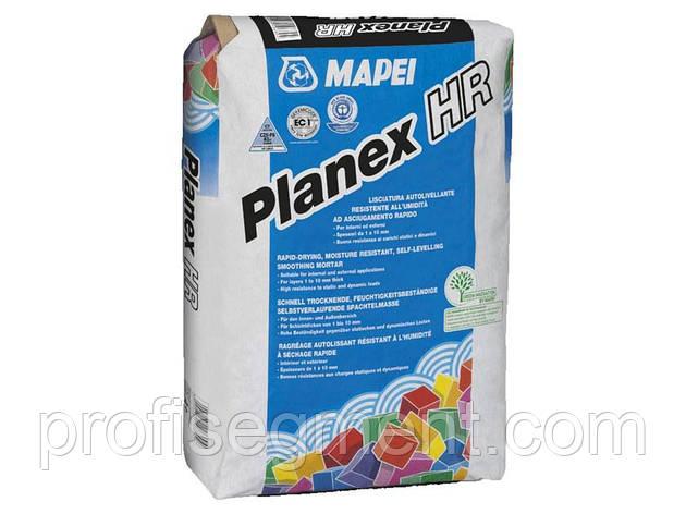 Быстросохнущая водостойкая самовыравнивающая смесь для внутренних и наружных работ Mapei Planex HR Maxi/25 - Планекс, фото 2