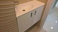 Тумба в ванную и встроенный шкафчик, фото 1