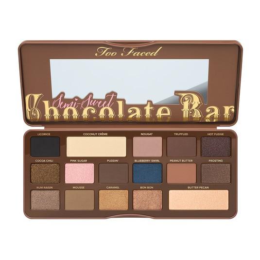 Палитра теней TOO FACED Chocolate Bar Semi Sweet