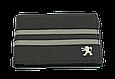 Кожаная обложка для прав Carrs с логотипом PEUGEOT черная (PEG19), фото 2