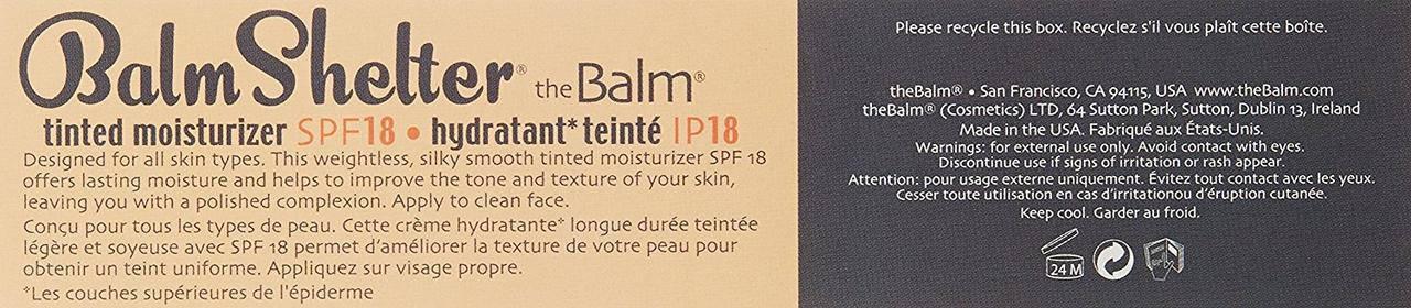 The BALM Balm Shelter Tinted Moisturizer Medium, фото 2