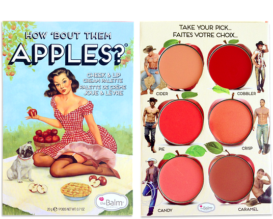 The Balm How Bout Them Apples? Cheek & Lip Cream Palette, фото 2