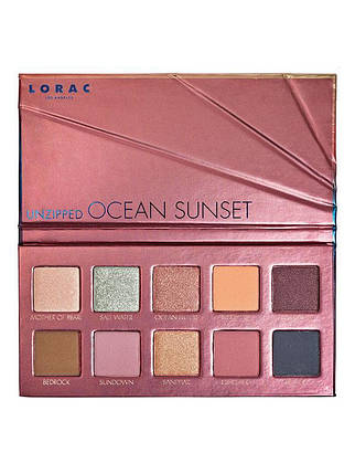 Палитра теней LORAC Unzipped Ocean Sunset, фото 2