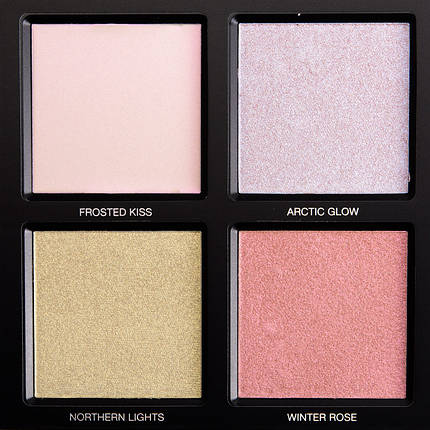 HUDA BEAUTY Winter Solstice Highlighter Palette, фото 2