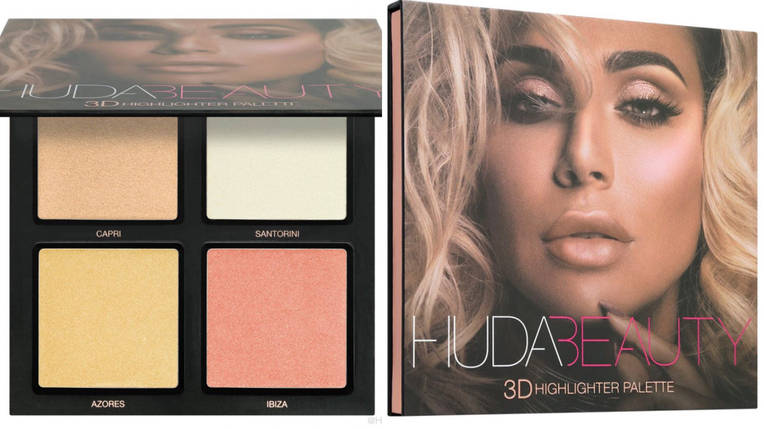 HUDA BEAUTY 3D Highlighter Palette – Pink Sands, фото 2