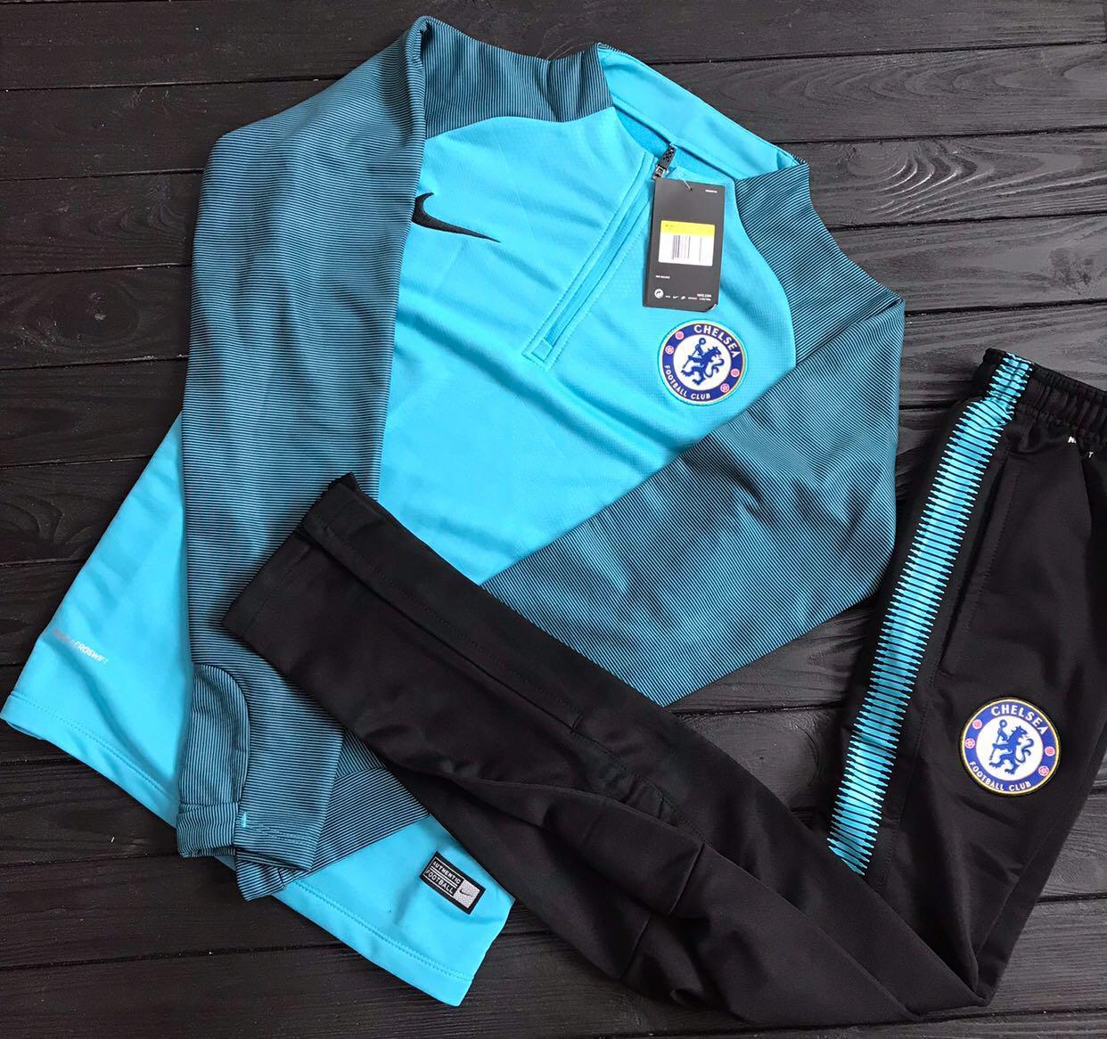 Спортивный (тренировочный ) костюм Челси (Chelsea ) 2017-2018 сезона - Sport  Exclusive 3da6bf1561f