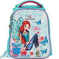 Ортопедический каркасный рюкзак для девочки Kite Winx fairy couture W17-531M