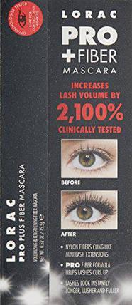Тушь для ресниц LORAC Pro + Fiber Mascara, фото 2