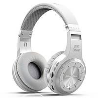 Беспроводные Bluetooth наушники Bluedio H Plus с поддержкой MicroSD и радио (Белый), фото 1