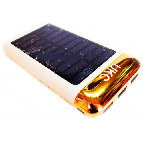 Внешний аккумуляторЗарядное устройство Power Bank 15000mAh + Solar