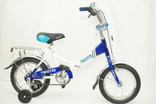 Детский велосипед VINNER14 TWISTER BMX синий