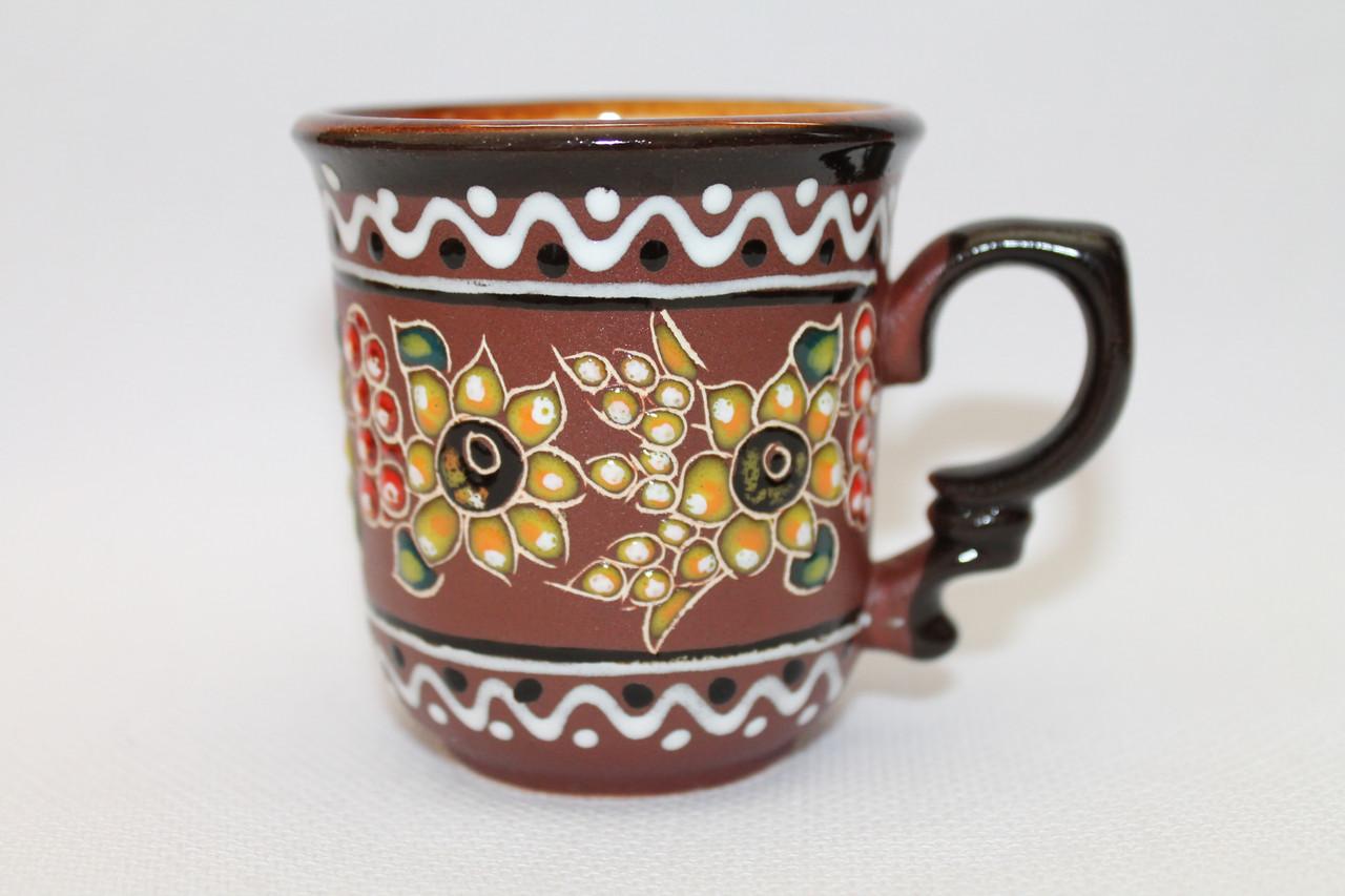 "Чашка кофейная 100мл ""Декор Калина"""