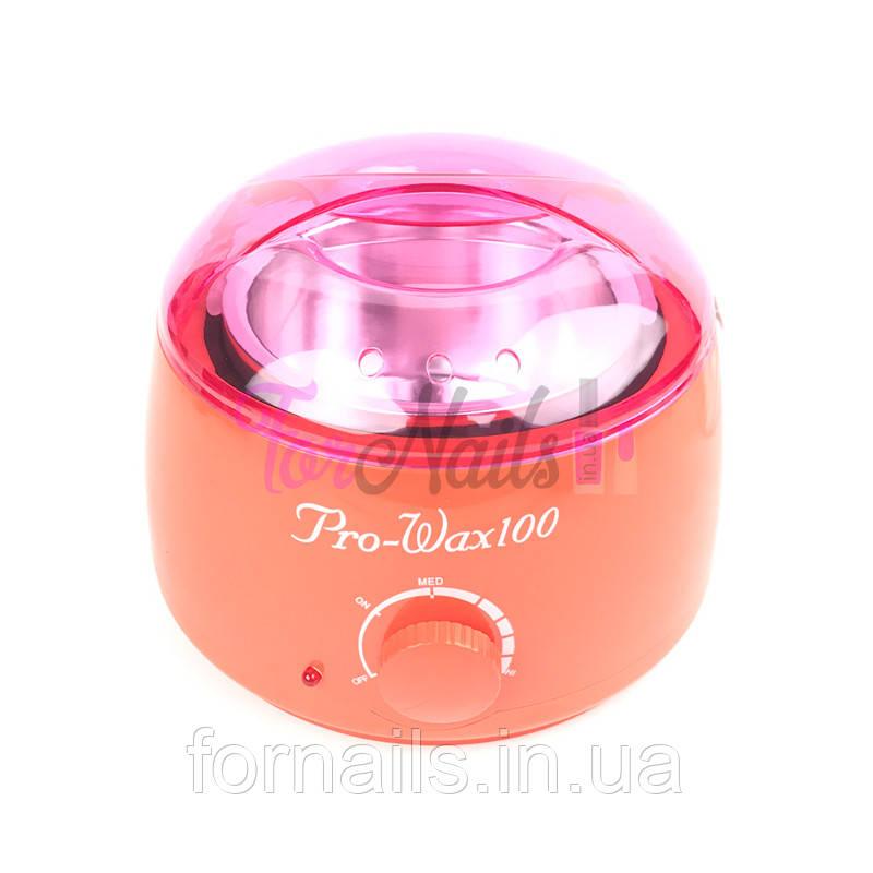 Pro-wax 100 Воскоплав для воска в банке, в гранулах, в таблетках, оранжевый