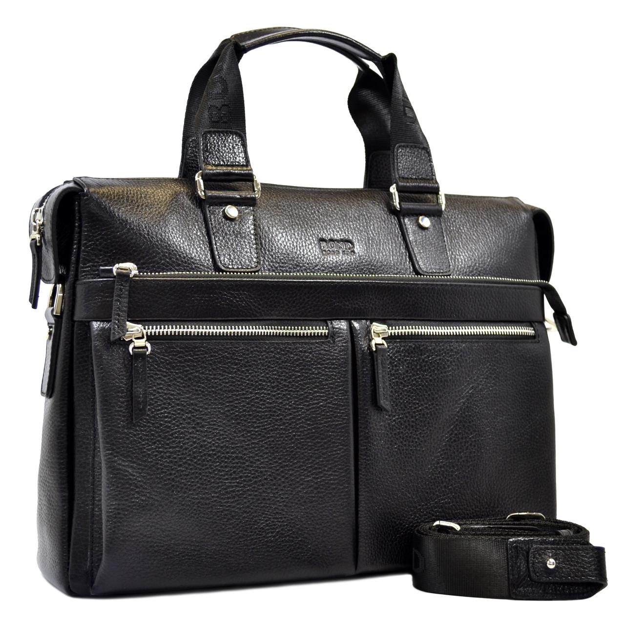 Кожаная сумка для документов Bond