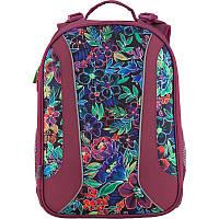 Рюкзак школьный каркасный Kite Flowery 703, фото 1