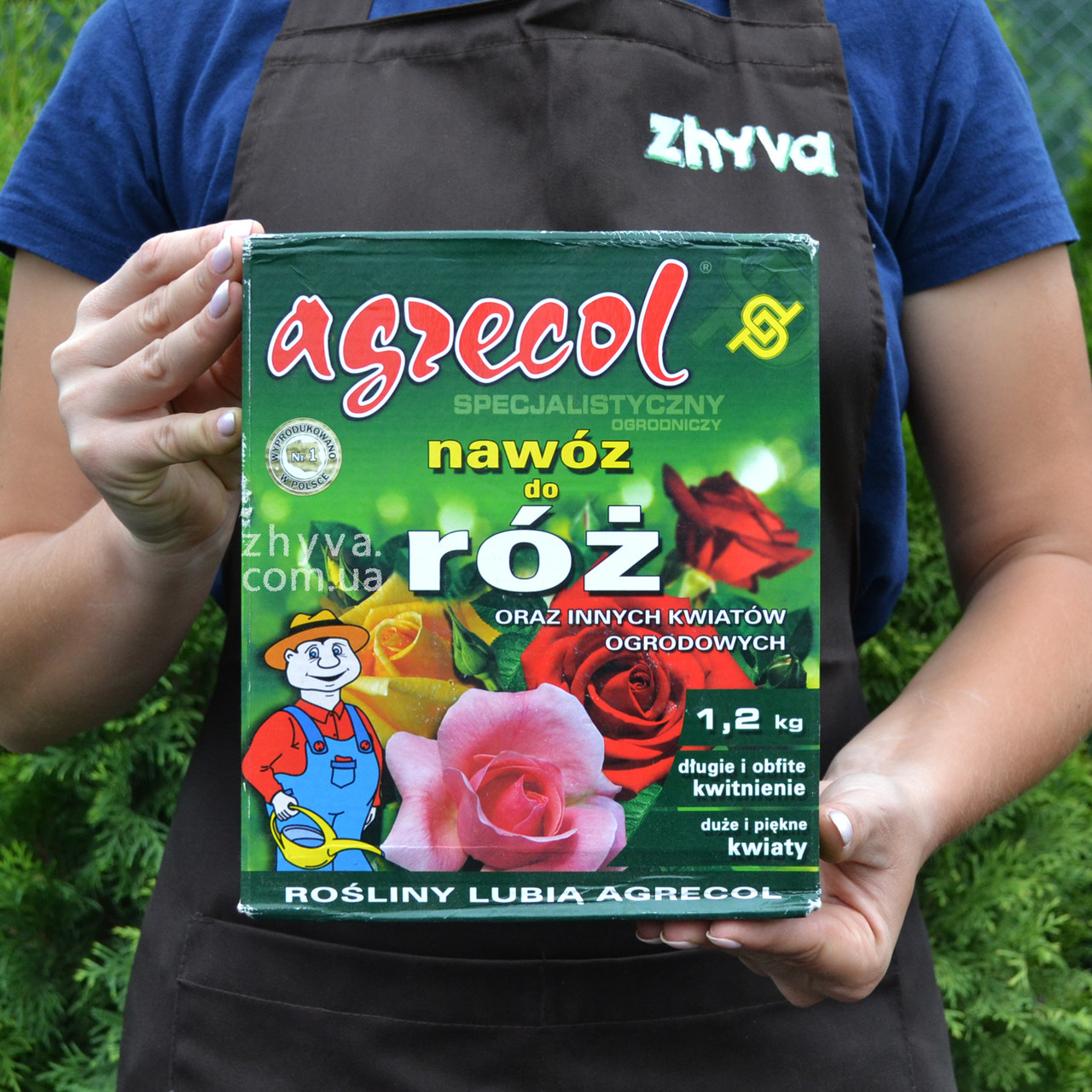 Удобрение для роз и других садовых цветов Agrecol 1,2кг