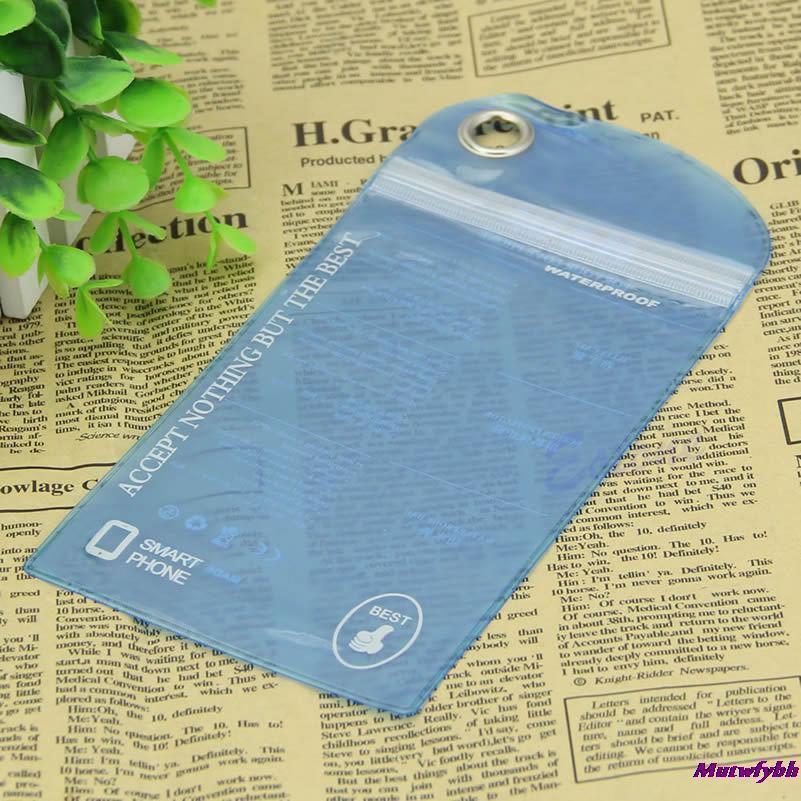 Чехол влагозащитный SwimPhone blue